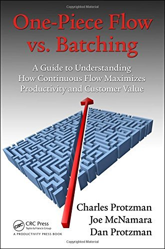One-Piece Flow vs. Batching: A Guide to Understanding How Continuous Flow Maximizes Productivity and Customer Value by Charles Protzman (2015-11-12)